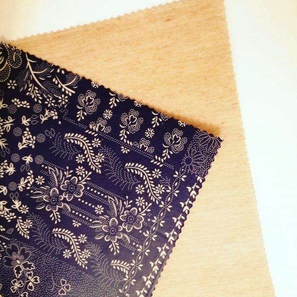 voskové obrúsky modrotlac lan