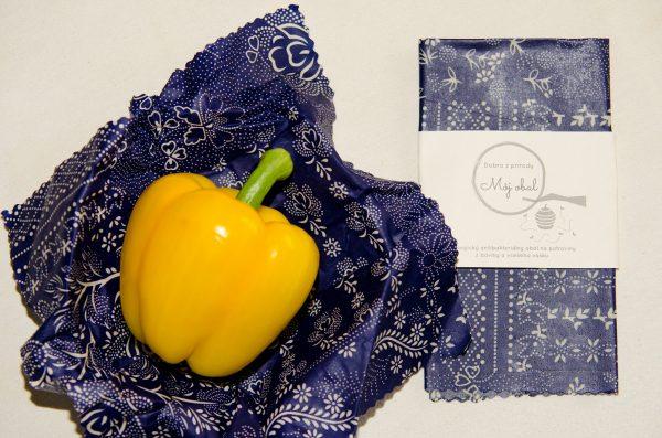 Modrotlač na balenie zeleniny