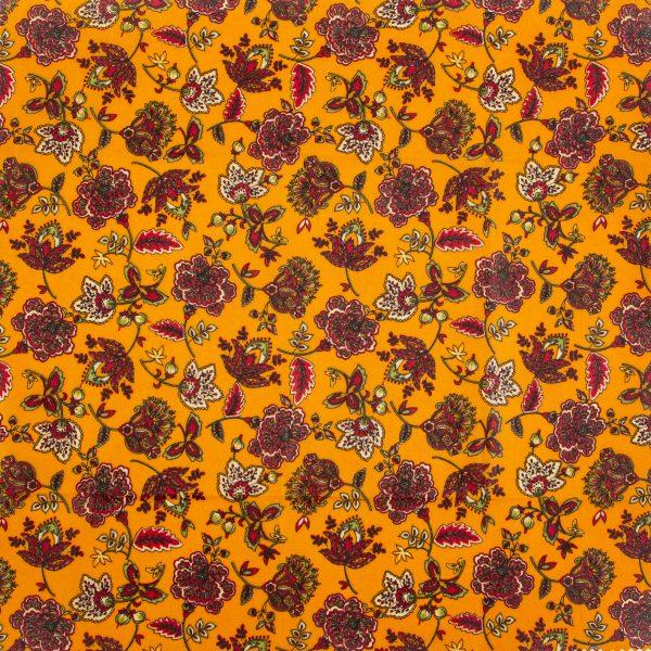 jesenné kvety voskovaný obrúsok