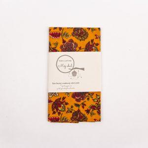 jesenné kvety môj obal s etiketou