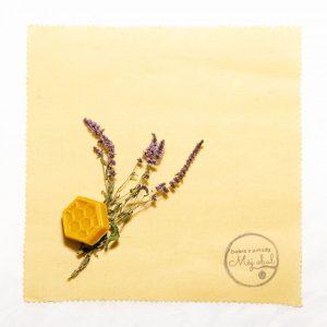 Voskový obrúsok - Čistá bavlna